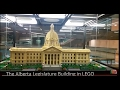 The Alberta Legislature Building in LEGO