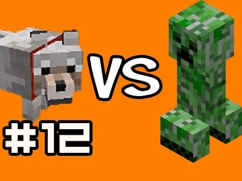 Watch Minecraft Solo: 100 Creepers vs 60 Wolves Test w/ Nova Ep.12 (Singleplayer Survival)
