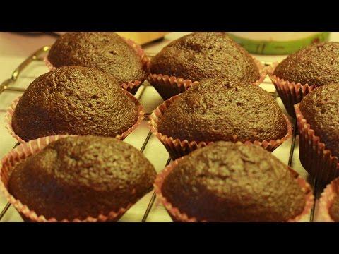 Кексы шоколадные на день рождения/ маффины/ капкейки в духовке