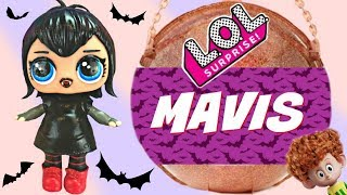 Hotel Transylvania Big LOL Surprise with Custom Mavis Vampire Doll