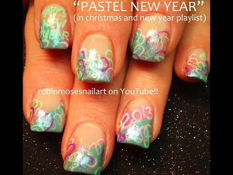New Years Eve Nail Art Design video