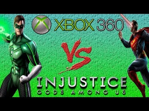 Lanterna Verde Vs Superman - Injustice: Gods Among Us - Gameplay - Xbox 360