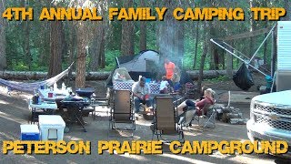 Family Camping 2017 - Peterson Prairie Campground, Washington State