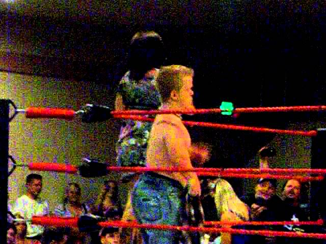 Extreme Midget Wrestling or Dirty Dancing?  You decide...