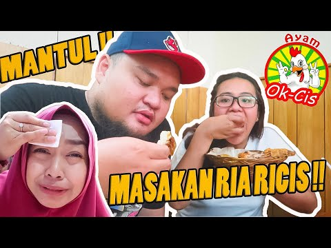 NYOBAIN MASAKAN RIA RICIS !! OK CIS ! MANTUL !!