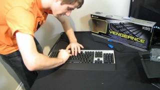 Corsair Vengeance K90 Backlit Macro Gaming Keyboard Unboxing & First Look Linus Tech Tips