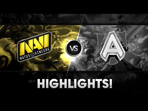 NaVi vs Alliance  Highlights  The Summit 2