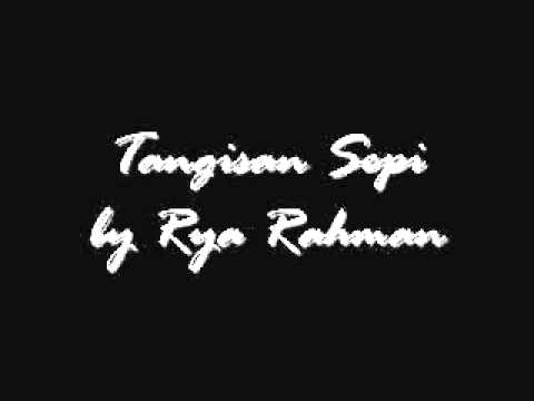 Rya Rahman - Tangisan Sepi (original) video