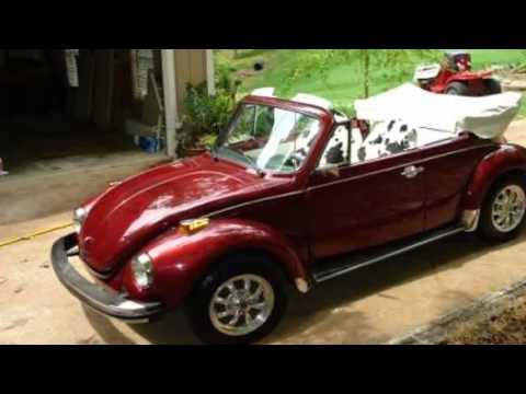 1978 Volkswagen Super Beetle Convertible Import Classic in Jackson, TN - YouTube