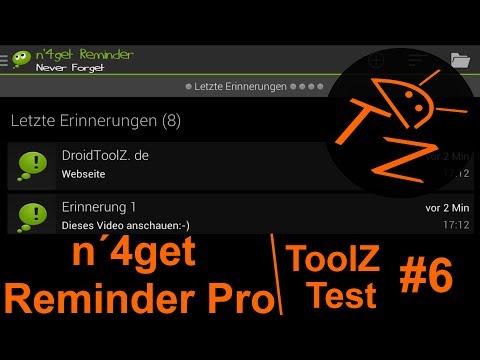 ToolZ Test #6: n'4get Reminder Pro