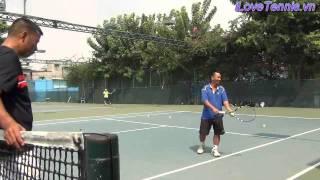 HLV Trương Quang Vũ hướng dẫn Chỉnh sửa động tác Tennis P 10