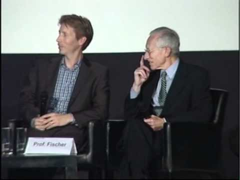 Professor Stanley Fischer and David Fischer at Facing Tomorrow 2011 - Part 1