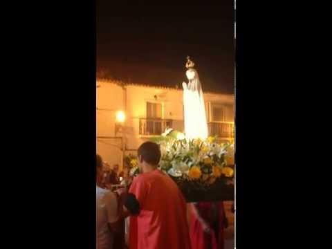 FIM DA PROCISS�O DAS VELAS EM ALDEIA DE PAIO PIRES EM 13/05/2014