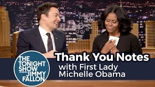 download Thank You Notes with First Lady Michelle Obama Video