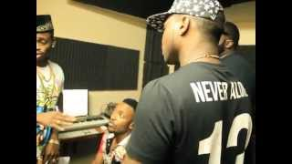 Diamond Platnumz ft Davido (The making of Number one Remix Audio)