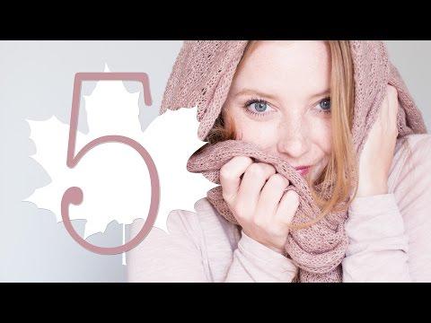 HERBST   5 Dinge, auf die ich mich freue ...