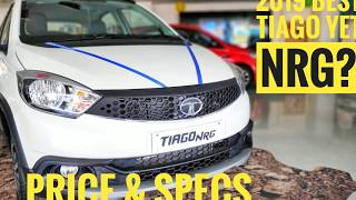2019 Tata Tiago NRG| Best Hatchback?| Top Features Explained