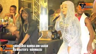 SHOWCASE DE BAMBA AMI SARAH AU MASTER'S