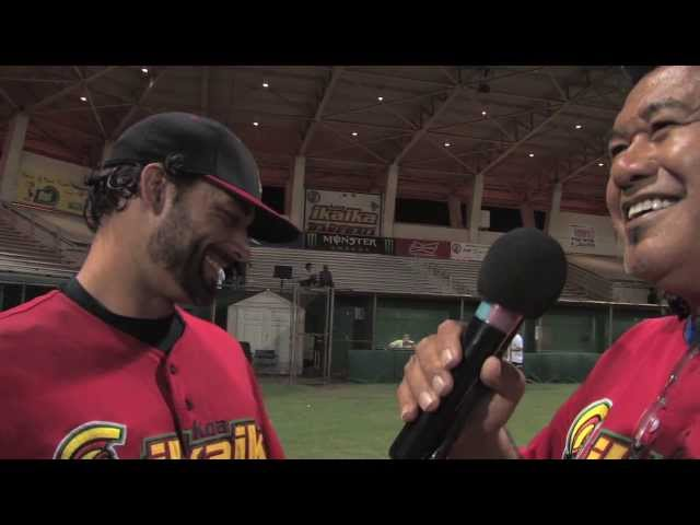 07/11/13 Jesse Smith Interview - Na Koa Ikaika Maui vs. East Bay Lumberjacks 4-2