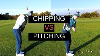 CHIPPING Vs PITCHING - CRAZY DETAIL