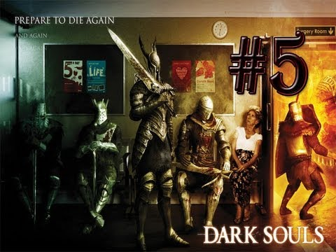 Dark Souls Prepare To Die #5 -Moonlight Butterfly,Divine Ember,Black Knight,Havels Ring