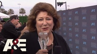 Margo Martindale Wins Best Guest Actress in a Drama Series | 2016 Critics' Choice Awards | A&E
