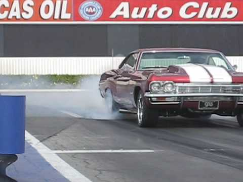 Watch a Diesel Powered Impala Smoke a Lamborghini