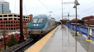 Amtrak NE Regional #181 at Wilmington, DE