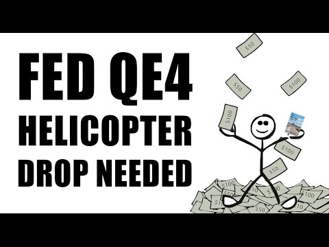 QE4 HELICOPTER DROP Needed as Strong U.S. Dollar Hurting Economy!