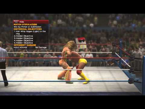 WWE 2K14 30 Years Of Wrestlemania   Ultimate Warrior vs Hulk Hogan