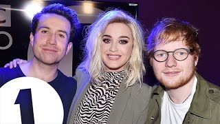 Download Lagu Ed Sheeran crashes Katy Perry interview with Grimmy Gratis STAFABAND