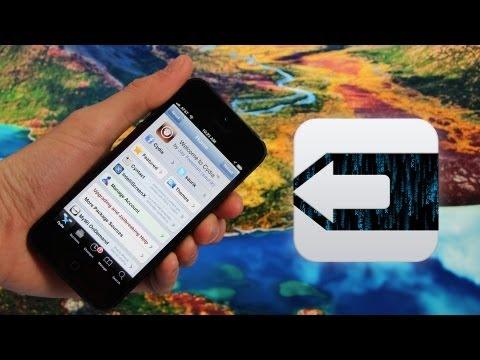 Evasi0n Jailbreak 6.1 Untethered iOS iPhone 5.4S.4.3Gs.iPod Touch 5.4 & iPad Mini.4.3.2