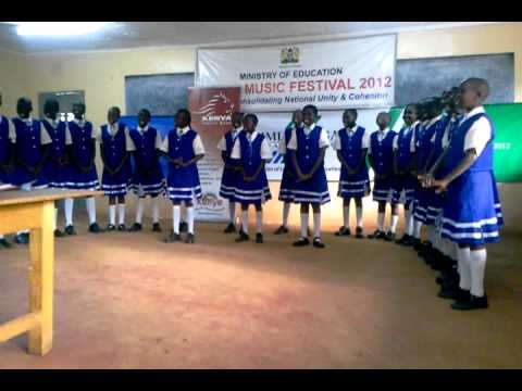 Moi University Primary School - Kiswahili Choral Verse