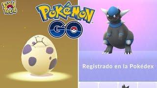 REGISTRO DE RAMPARDOS MÁS ABRIENDO HUEVOS DE 10 KM CON TROZO ESTRELLA! [Pokémon GO-davidpetit]