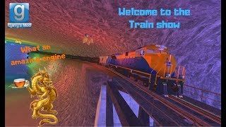 The amazing trainshow #2 [GMod train build]