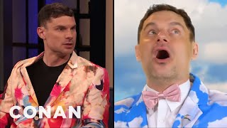"Flula Borg On His ""Self-Care Sunday"" Music Video - CONAN on TBS"