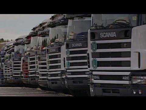 Folge der Krise: Scania drosselt Produktion