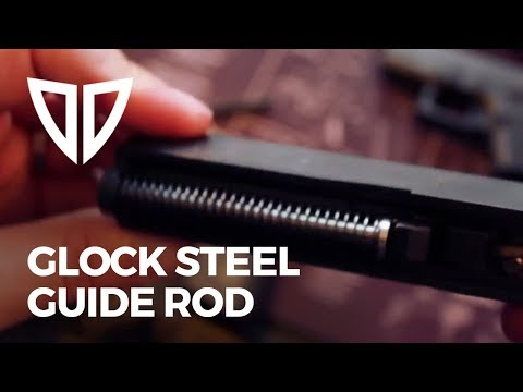 Glock Steel Guide Rod/Recoil Spring Replacement - Brass Stacker - Easy Glock Mods - Doulos Defense