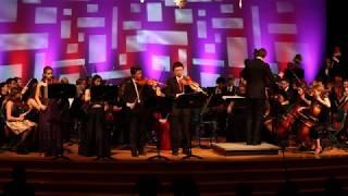 Mounds View Symphony Orchestra plays Vivaldi Violin Concerto in F minor - Allegro non molto