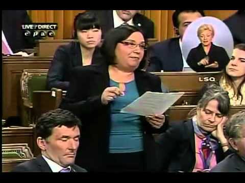 NDP MP rudely woken up by clapping in Parliament?