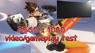 2560 x 1080 Video/Gameplay | Overwatch 1080P