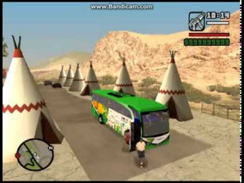Sahabat Kita Bus Indonesia GTA San Andreas