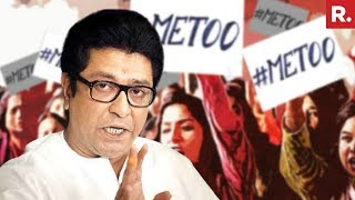 MNS Chief Raj Thackeray Defends Nana Patekar, Questions 'Me Too' Debate