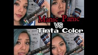 MANIC PANIC VS TINTA COLOR (Reseña)