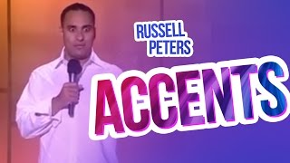 """""""Accents""""   Russell Peters"""