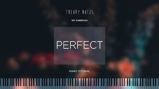 Download Lagu How to Play Ed Sheeran - Perfect | Theory Notes Piano Tutorial Gratis STAFABAND