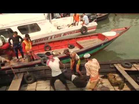 Raw Video: 31 Dead in Bangladesh Ferry Crash