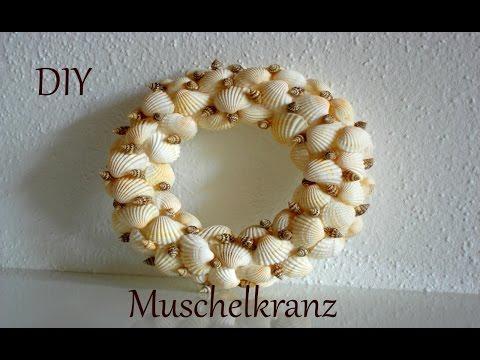 DIY |  Muschelkranz | Sommerdeko | Just Deko