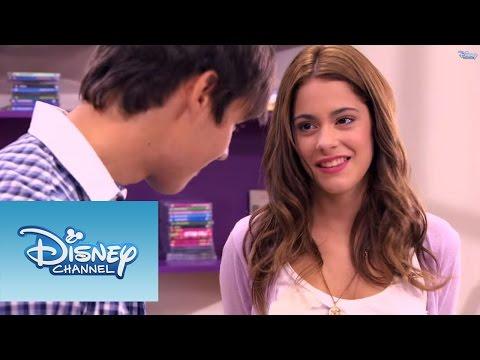 Violetta: Momento musical Violetta e Leon cantam Voy por ti
