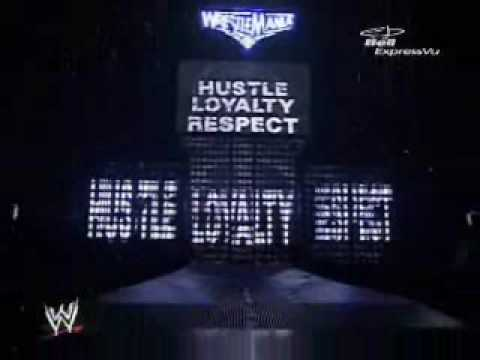 wrestlemania 22 triple h and john cena entrance
